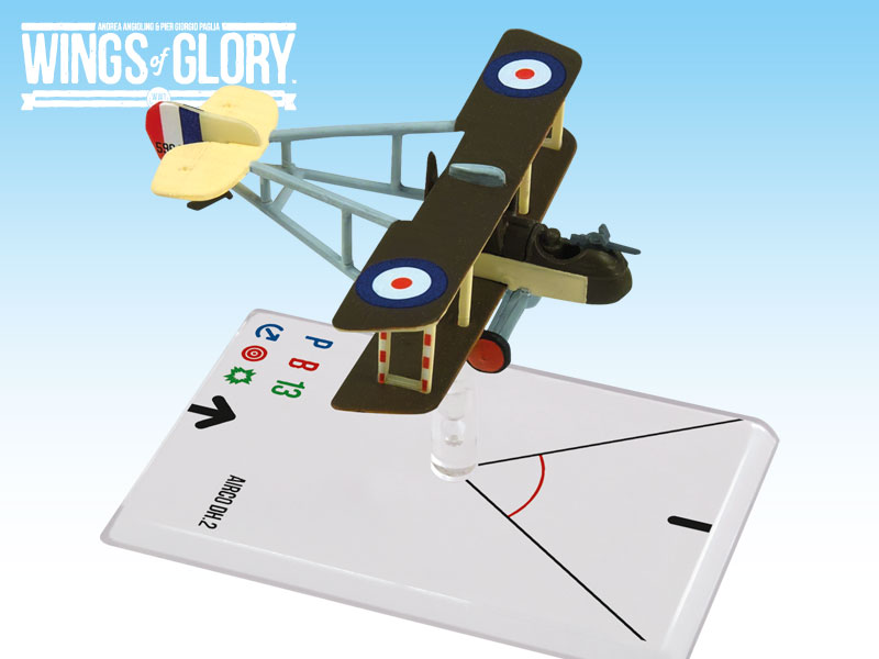 Wings of Glory WWI : Airco DH.2 (Hawker) by Ares Games Srl