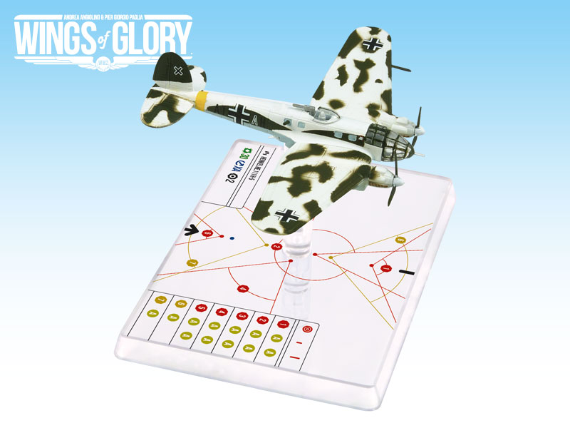 Wings Of Glory WW2: Heinkel He.111 H-5 1./kg53 by Ares Games