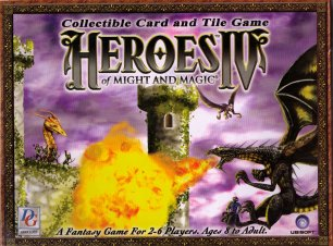 Heroes Of Might & Magic IV CCG: & Tile Game 2-player Starter Set by DG Associates
