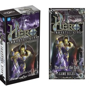 Hero Immortal King: The Lair Of The Lich by Asmodee Editions