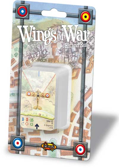 Wings Of War: Hit And Run Squadron Pack by Fantasy Flight Games