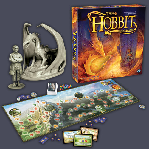The Hobbit Board Game (2010 version) by Fantasy Flight Games