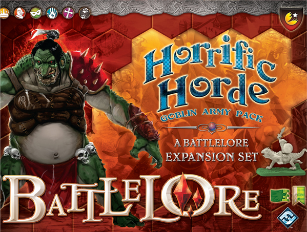 Battlelore: Horrific Horde Goblin Army Pack by Fantasy Flight Games