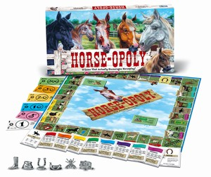 Horse-Opoly by Late For the Sky Production Co., Inc.