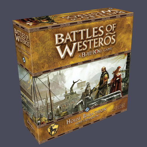 Battles of Westeros - House Baratheon Army Expansion by Fantasy Flight Games