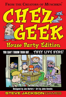 Chez Geek: House Party Edition by Steve Jackson Games