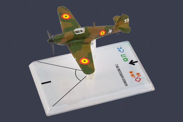 Wings of War: Hawker Hurricane Mk I - Van den Hove by Fantasy Flight Games