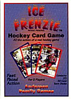 Ice Frenzie - The Hockey card game by Anderson Family Games / Game Publishers Associaton