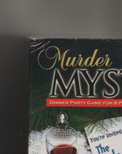 Murder Mystery Party - The Icicle Twist  - Slight Damaged Box by University Games