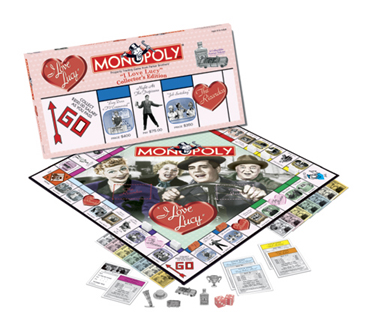 I Love Lucy Collector's Edition Monopoly Board Game by USAopoly
