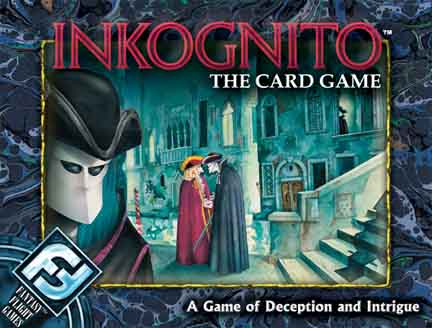 Inkognito - The Card Game by Fantasy Flight