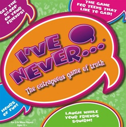 I've Never...? The Game of Truth Board Game (Teen Version) by INI, LLC