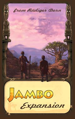 Jambo Expansion by Rio Grande Games