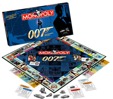James Bond 007 Collector's Edition Monopoly by USAOpoly