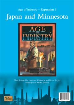 Age of Industry - Expansion 1 : Japan and Minnesota by Mayfair Games