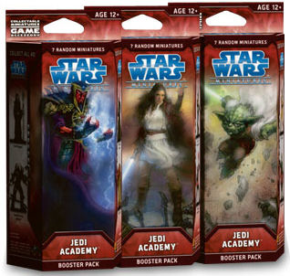 Star Wars CMG: Jedi Academy Booster by Wizards of the Coast