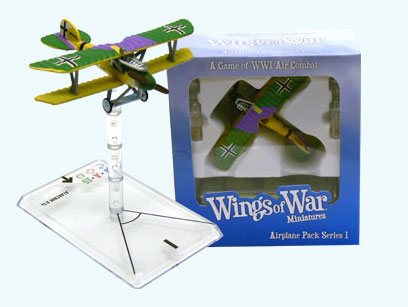 Wings of War miniatures : Albatross D. Va Kurt Jentsch (Germany) by Fantasy Flight Games