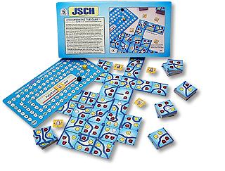 JSCHWJSCH Tile Game by Family Pastimes