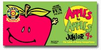 Apples to Apples Junior 9 plus by Out of the Box Publishing
