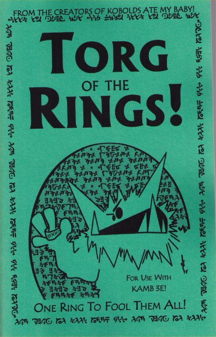 KAMB Torg of the Ring! by 9TH LEVEL GAMES