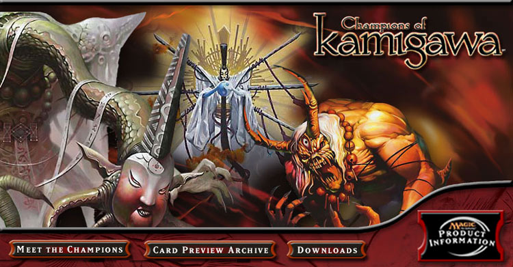 Magic The Gathering: Champions of Kamigawa Booster Pack by Wizards of the Coast