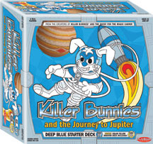 Killer Bunnies And The Journey To Jupiter Blue Starter Deck by Playroom Entertainment