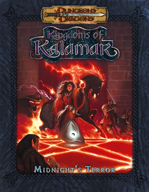 Dungeons & Dragons: Kingdoms Of Kalamar: Midnights Terror (d20) by Kenzer and Company