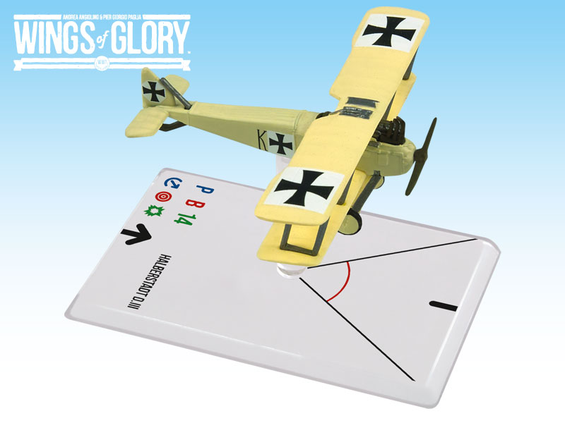 Wings of Glory WWI : Halberstadt D.III (Keudell) by Ares Games Srl
