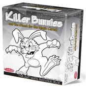Killer Bunnies-Quest for Magic Carrot-Twilight White Box Expansion by Playroom Entertainment