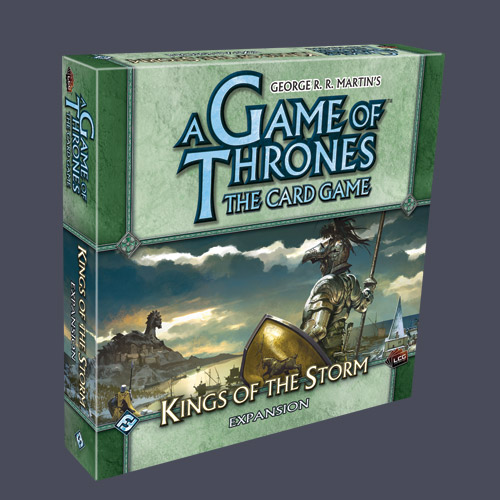 A Game Of Thrones LCG: Kings Of The Storm Expansion by Fantasy Flight Games