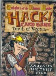 HACK! Card Game Tomb of Vectra : KNUCKLES THE THIEF DECK (Knights of the Dinner Table) by Eden Studios    Kenzer and Company