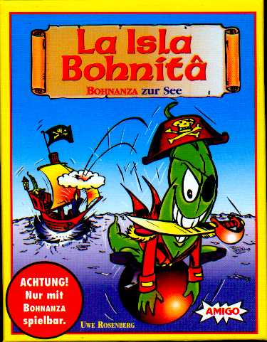 Bohnanza Expansion-La Isla Bohnita by Amigo
