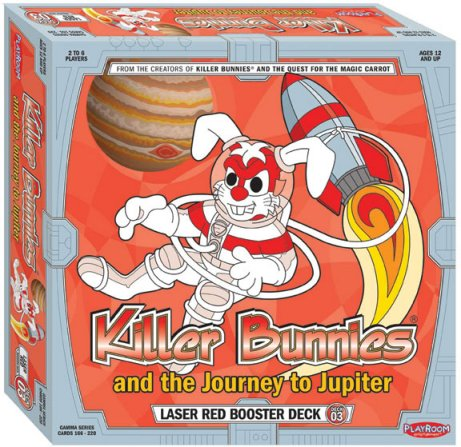 Killer Bunnies: Jupiter Laser Red Booster Deck by Playroom Entertainment