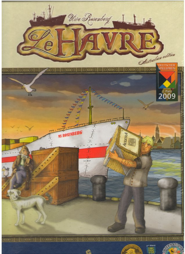 Le Havre (1st edition) by Lookout Games