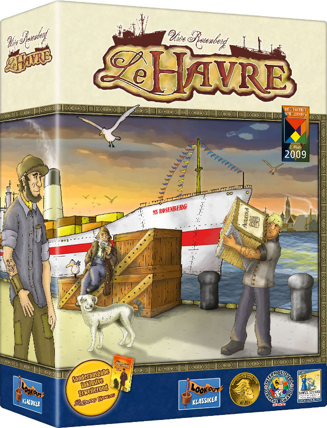 Le Havre (2nd edition - includes Le Grand Hameau expansion) by Lookout Games