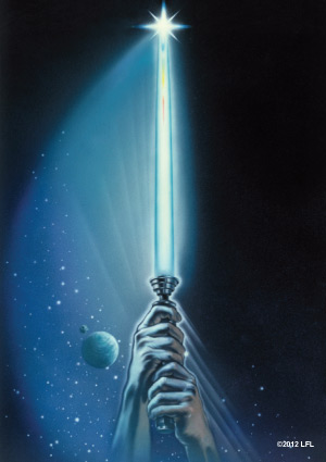 Star Wars Lightsaber Art Sleeves (50) by Fantasy Flight Games
