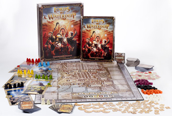 Lords of Waterdeep Board Game by Wizards of the Coast