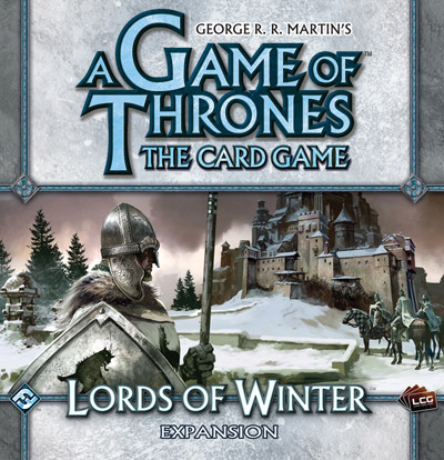 A Game Of Thrones LCG: Lords Of Winter Expansion by Fantasy Flight Games
