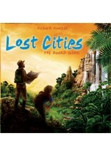 Lost Cities: The Board Game by Rio Grande Games