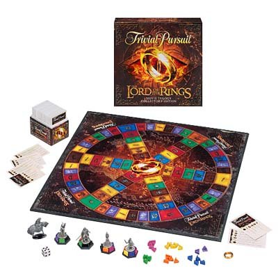 Lord of the Rings Trivial Pursuit by Parker Brothers/Hasbro