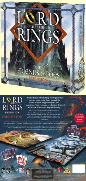 Lord of the Rings - Friends and Foes Expansion by Fantasy Flight