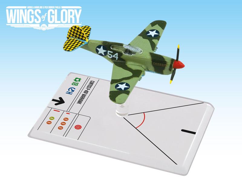 Wings of Glory WW2 : Curtiss P-40F Warhawk (Lott) by Ares Games Srl