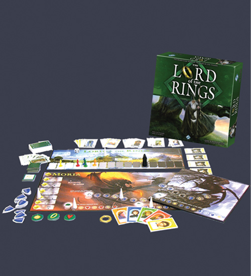 The Lord Of The Rings: The Board Game (Silver Line Edition) by Fantasy Flight Games
