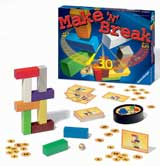 Make 'n' Break (includes bonus Labyrinth travel game!) by Ravensburger