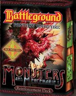 BFW Monsters & Mercenaries Reinforcements (Battleground Fantasy Warfare) by Your Move Games