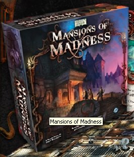 Mansions Of Madness by Fantasy Flight Games