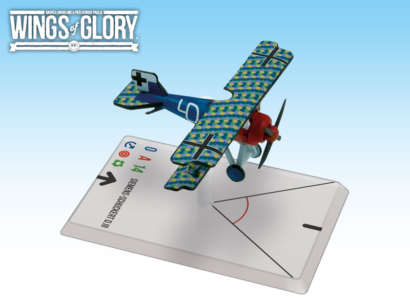 Wings of Glory WWI : Siemens-Schuckert D.III (Von-Beaulieu-Marconnay) by Ares Games Srl