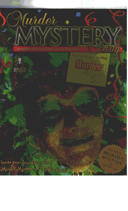 Murder Mystery Party: Murder at Mardis Gras by University Games / Dinner Games