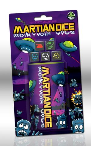 Martian Dice by Tasty Minstrel Games
