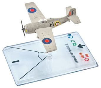 Wings Of War II: Grumman F4F-3 Martlett III (Black) by Fantasy Flight Games